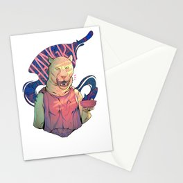 Hangry Stationery Cards