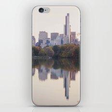 Central Park Sunset iPhone Skin