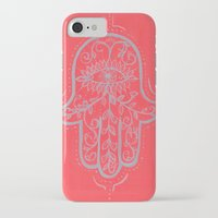 hamsa iPhone & iPod Cases featuring Hamsa by Grace Anderson