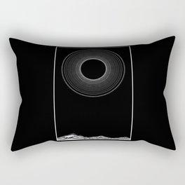 Black sun Rectangular Pillow