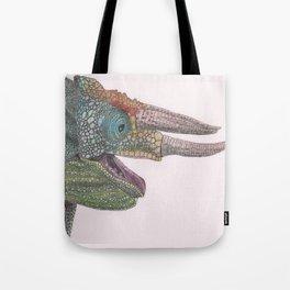 Happy Chameleon (watercolor) Tote Bag