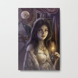 The witching hour Metal Print