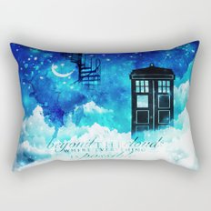Beyond the clouds | Doctor Who Rectangular Pillow