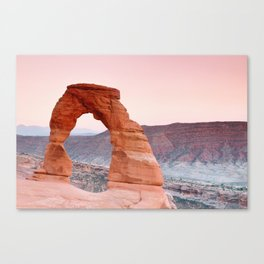 Delicate Arch Sunset 2 Canvas Print