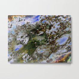 Face your fading World Metal Print