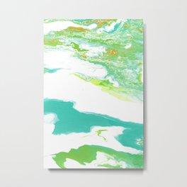 Agua Metal Print