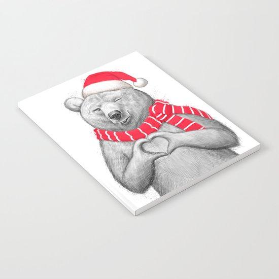 christmas bear #2 Notebook