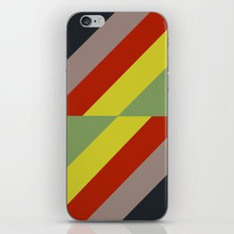 Modernist Geometric Graphic Art iPhone Skin