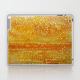 Landscape Dots - Orange Laptop & iPad Skin