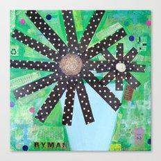 A lotta polka dots! Canvas Print
