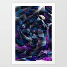 Chits in the Wind Art Print