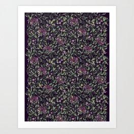 Joan Print-Dark Art Print