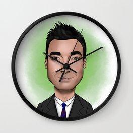 Cartoon Jimmy Fallon Wall Clock