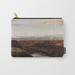 Snake River, Idaho - Scenic Desert Canyon Carry-All Pouch