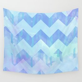 Watercolour Chevron {Spring 2015 Limited Edition} No. 2 Wall Tapestry