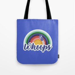 Retro Whoops Tote Bag