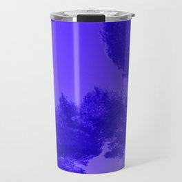 Blue Summer Pines Travel Mug