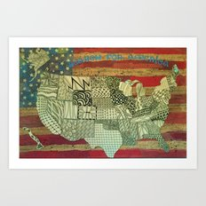 Search for America Art Print