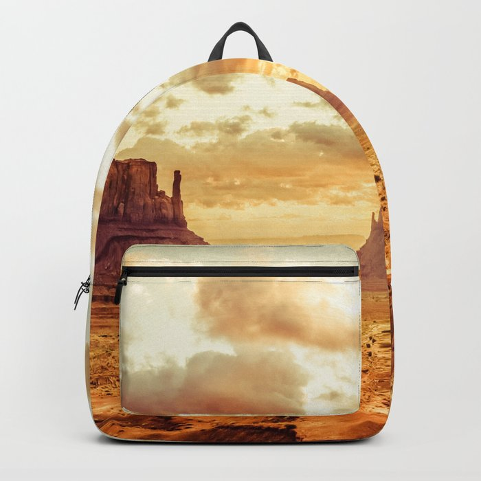 Monument Valley Sunrise Backpack