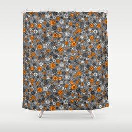 Buttons Shower Curtain