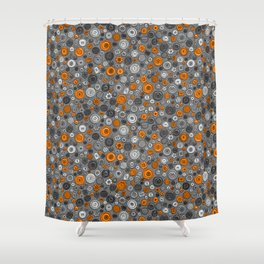 Buttons Shower Curtain