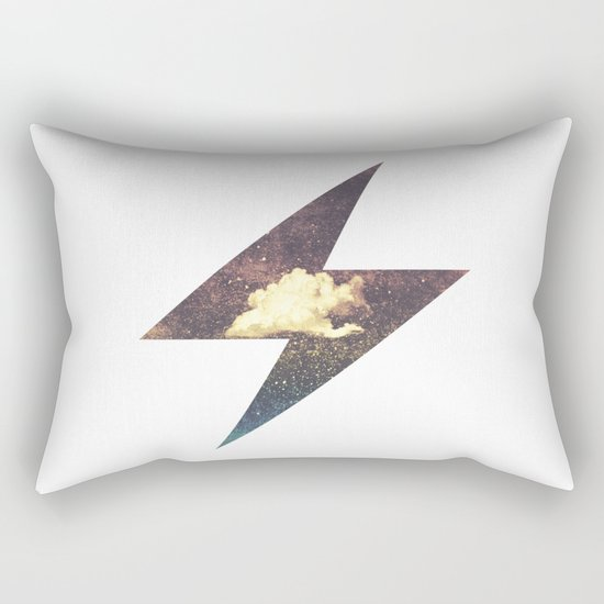 Roaring Thunder Rectangular Pillow