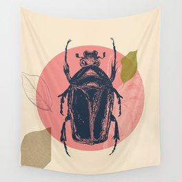 Blue Beetle Wall Tapestry