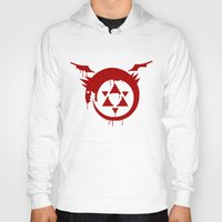 fullmetal Hoodies featuring Ouroboros by KanaHyde