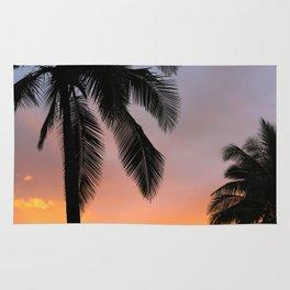 Ocean Shore Palms Rug