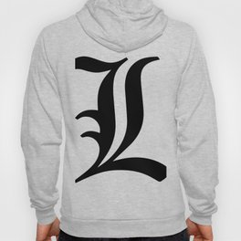 L Death Note Hoody