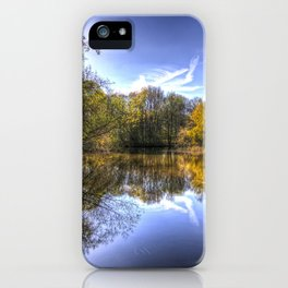 The Silent Pond iPhone Case