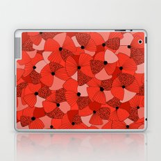 Red Poppies Laptop & iPad Skin