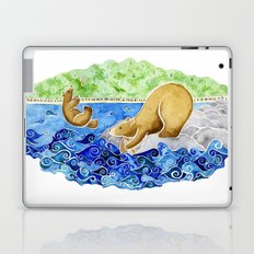 Baby Bear Takes A Tumble Laptop & iPad Skin