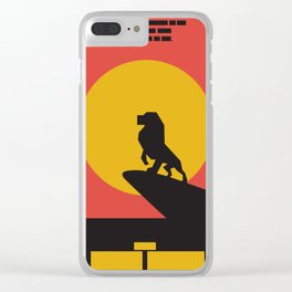 The Lion King Simple Series Clear iPhone Case