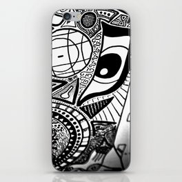 Fly with me iPhone Skin