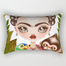 Frida Querida Rectangular Pillow