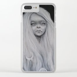 Moonchild Clear iPhone Case