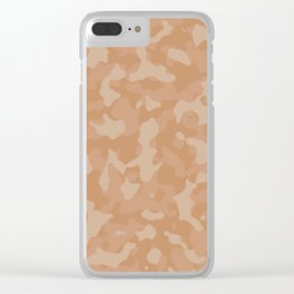 Butterum Camouflage Clear iPhone Case