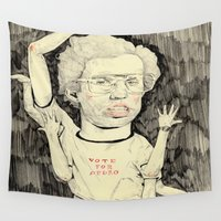 napoleon Wall Tapestries featuring Napoleon Dynamite by withapencilinhand