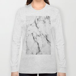 Marble #texture Long Sleeve T-shirt