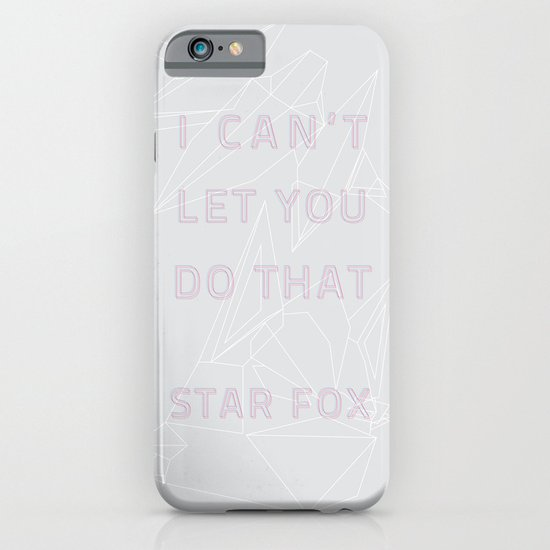 I Can't Let You Do That iPhone & iPod Case