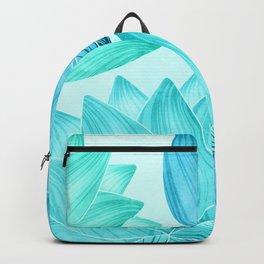 Lotus Love II / Zen Teal Palette Backpack