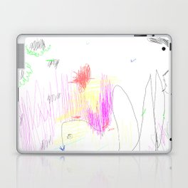 abstract whale Laptop & iPad Skin