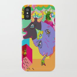 twisted reams  iPhone Case