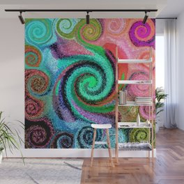 Sticky Love Mosaic Wall Mural