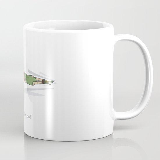 Spiral Arrow Mug