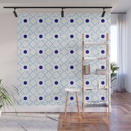 Antic pattern 9- from LBK blue Wall Mural