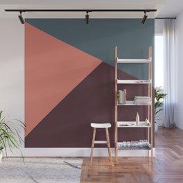 Geometric Jewel-tones Wall Mural