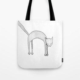 Leaping Cat Tote Bag
