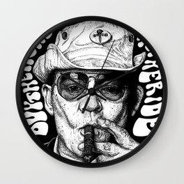 Buy the ticket, take the ride Wall Clock